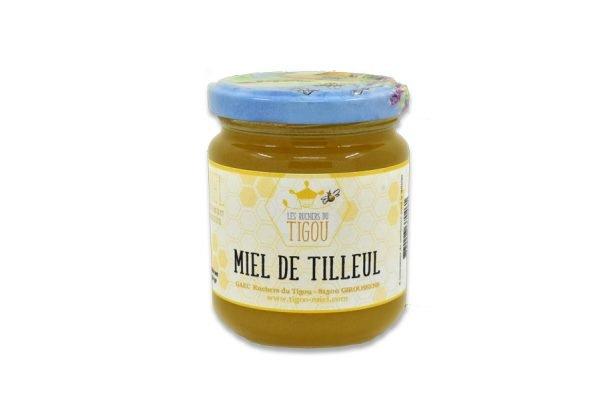 pot de miel de tilleul 250g - Ruchers du Tigou