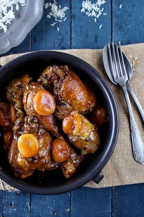 recette poulet au miel et pain d'épice