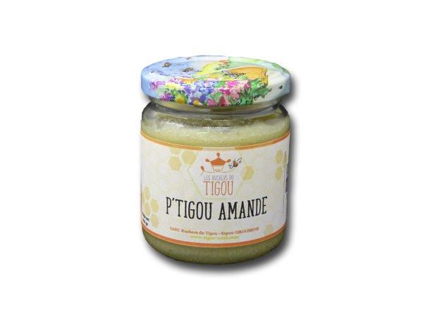 Ptigou Amande pot de 200g Les Ruchers du Tigou