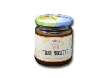 Ptigou Noisette pot de 200g Les Ruchers du Tigou