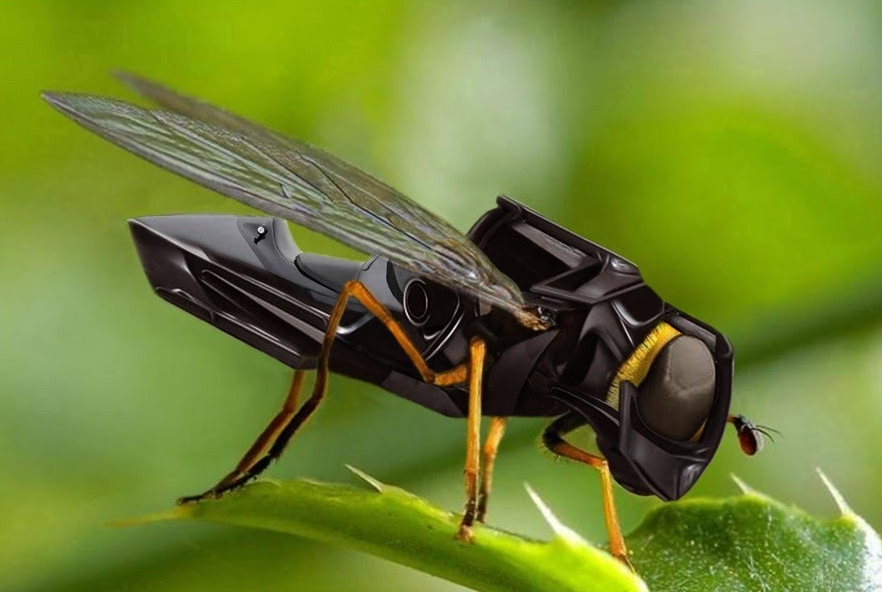 Les abeilles remplacées par des drônes