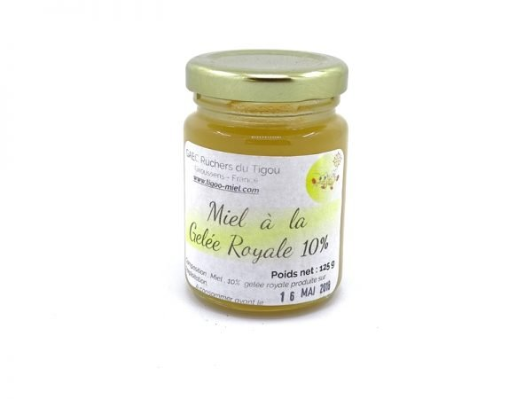 miel gelée royale 10% pot 125g