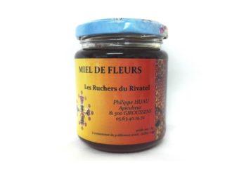miel totues fleurs d'été pot 250g ruchers du rivatel