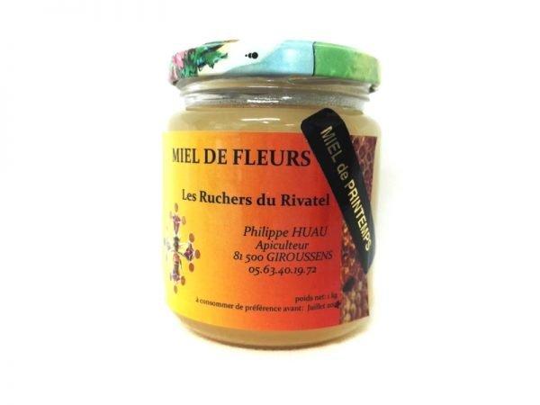 miel de printemps pot 250g ruchers du rivatel