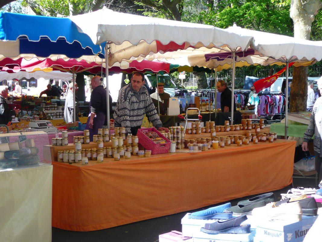 marché producteurs ruchers des arts