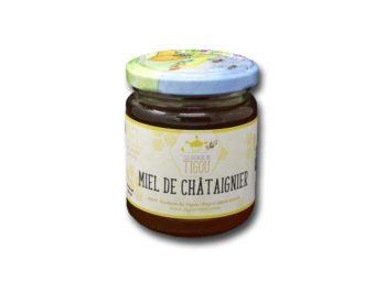 miel de châtaignier pot 250g ruchers du tigou