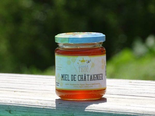 miel d'acacia pot 250g ruchers du tigou
