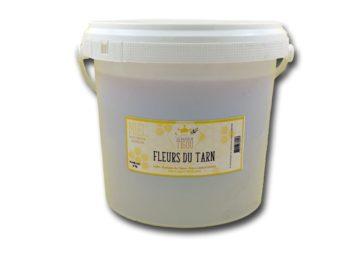 Miel fleurs du tarn en vrac seau de 3kg Les Ruchers du Tigou