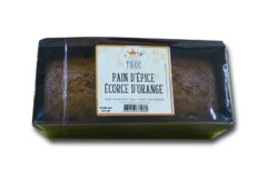 Pain d'épice aux écorces d'orange
