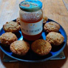 Muffins pommes et miel