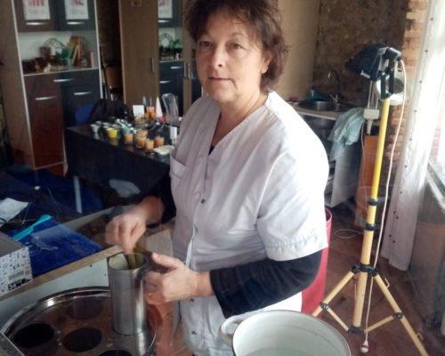 atelier bougie de cire