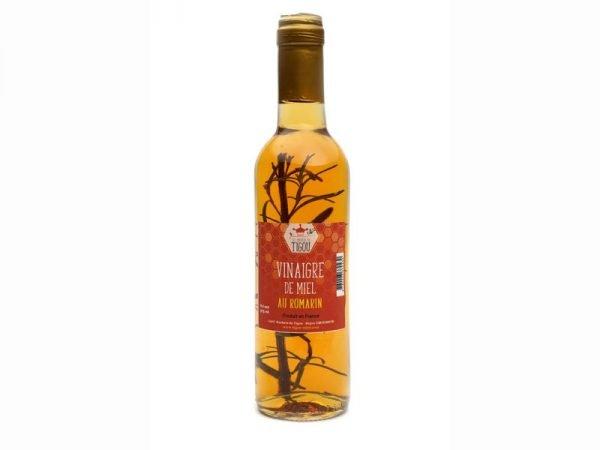 Vinaigre de miel au romarin - bouteille 37cl