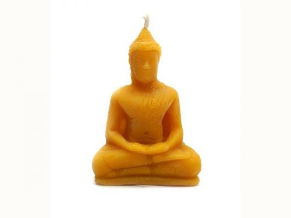 bougie de cire bouddha