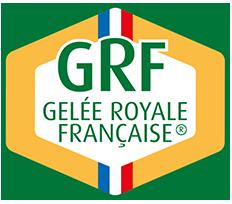 Logo GRF, gelée royale française