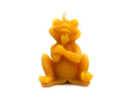 bougie de cire grenouille