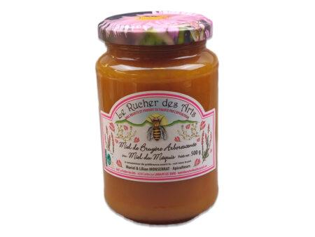 miel bruyere arborescente maquis 500g