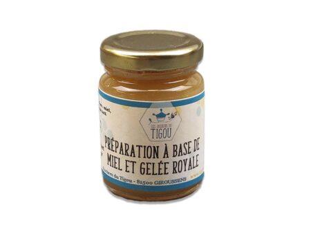 préparation miel et gelée royale 125g