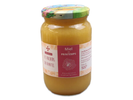miel toutes fleurs de printemps 500g