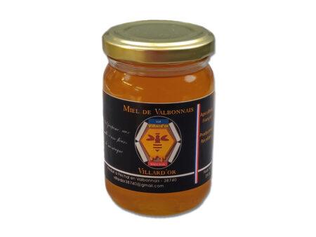 Pot de miel de Villard 250g des Ruchers Villard'Or, produit en Isère, au coeur des Alpes