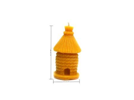 dimensions bougie de cire ruche