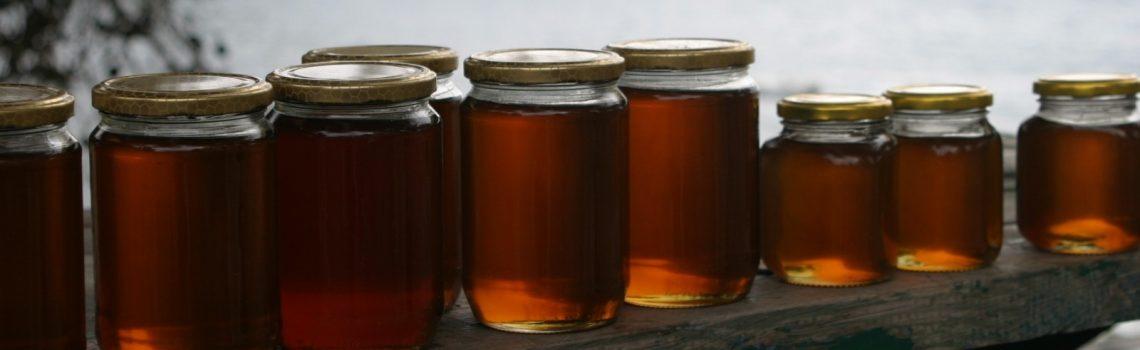 commercialisation de miels en pots
